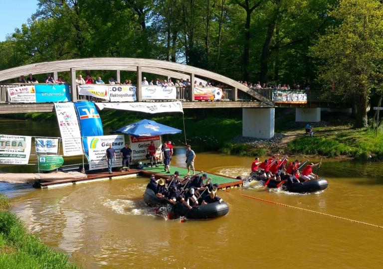 22. Schlauchbootrennen der Feuerwehren (07.05.2016)